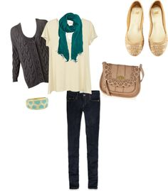 """""""College Clothes 13"""" by dylanelise on Polyvore"""