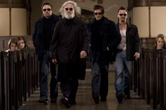 Sean Patrick Flanery and Norman Reedus reprise their roles as brothers Connor and Murphy McManus in Boondock Saints II: All Saints Day Sean Patrick Flanery, Boondock Saints 3, Clifton Collins Jr, Billy Connolly, Erin Go Bragh, Saints And Sinners, All Saints Day, Movie Blog, Boondocks