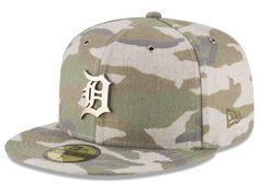 ce9bb1554af Detroit Tigers New Era MLB Antique Camo 59FIFTY Cap