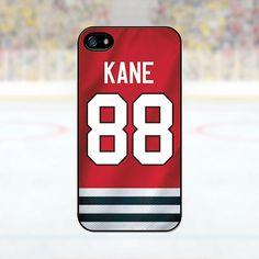 Patrick Kane  Chicago Blackhawks Case iPhone 4 4S by PhoneJerseys