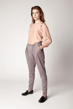 Wrap Front Trousers - a versatile style which can be dressed up or kept casual Dress Up, Trousers, Normcore, Casual, Sleeves, Collection, Spring, Tops, Style