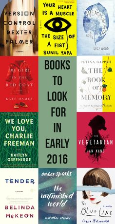 Fiction to Look For in Early 2016