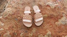 Kalliniki sandals : Geometric balance   The Greek Designers