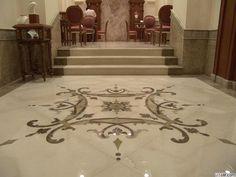 Большая мраморная плитка для пола, фото №13