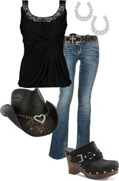 """we dont always have our boots on........okay maybe we do"" by southernbell1020 on Polyvore"