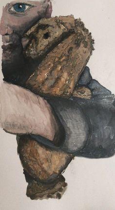 Bunny, Watercolor, Artwork, Painting, Pen And Wash, Cute Bunny, Watercolor Painting, Work Of Art, Auguste Rodin Artwork