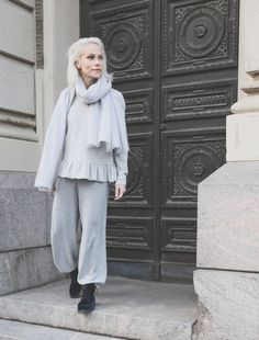 ♥︎ Muotikuiskaaja Oui:n neuleunelmassa Normcore, Style, Fashion, Swag, Moda, Fashion Styles, Fashion Illustrations, Outfits