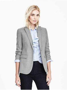 Women's Suit Collections: dress suits, blazers, skirts, separates, suit pants, suit vests | Banana Republic