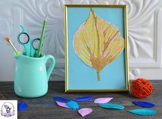 Рисование с помощью трубочки. Кляксография -вид творчества, развивающий воображение, а еще дыхательная гимнастика. Осенние поделки для детей