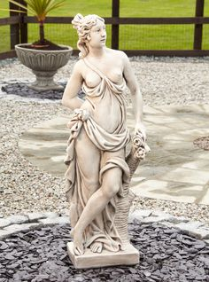 Superior Astrid Stone Figurine Sculpture Large Garden Statue. Buy Now At Http://www