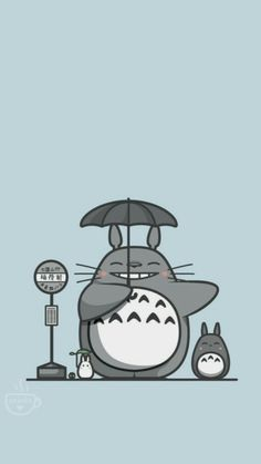Cute Cartoon Wallpapers, Animes Wallpapers, Otaku Anime, Anime Art, Studio Ghibli Characters, Studio Ghibli Art, Kawaii Doodles, Anime Girl Cute, My Neighbor Totoro