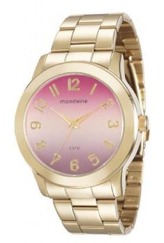 a40f1b2d1b42f 120 melhores imagens de Relógios Femininos   Bracelets, Ear rings e ...