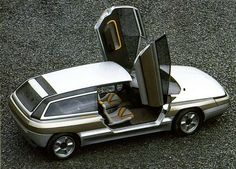 Citroen Zabrus Concept by Bertone, 1986 Psa Peugeot Citroen, Citroen Car, Citroen Concept, Concept Cars, Shooting Brake, Car Posters, Futuristic Cars, Transportation Design, Cars And Motorcycles