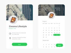 TailsLife: Booking by Ranjith Alingal - Dribbble