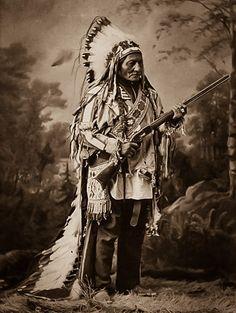 Hunkpapa Leader and Medicine Man Sitting Bull