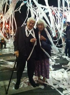 You're never too old to roll Toomer's Corner