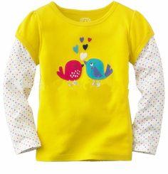 Marca de varejo 2016 Novos 100% Algodão Crianças Roupa Criança Roupas Blusa para o bebê Meninas T camisas Top Longo Seeve Flor Primavera Outono em Camisetas de Mãe & Kids no AliExpress.com | Alibaba Group