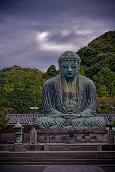 Kamakura, Japan, the Great Iron Buddha is a World Heritage Site, and worth pilgrimage no matter what you worship. UNESCO WORLD HERITAGE
