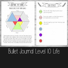 Bullet Journal  Level 10 life  A4A5 and US by ScatteredPapers1