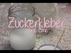 DiY Zuckerkleber ohne CMC -schnell hergestellt I Tortendekoration - YouTube