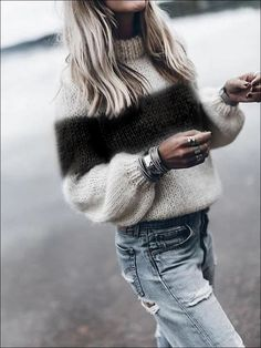 Women winter casual outfits with cardigan must Winter Fashion Casual, Casual Winter Outfits, Winter Dresses, Casual Fall, French Outfit, Pullover Mode, Cool Summer Outfits, Cardigan Outfits, Looks Cool