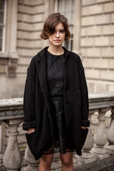 black on black #style #streetstyle #fashion