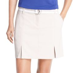 Women's IZOD Belted Golf Skort, Size: