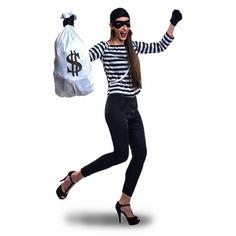 Disfraz de Ladrona de Bancos para mujer #disfraces #carnaval #novedades2017