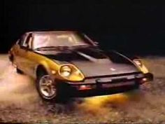 VIDEO: 1984 Datsun 10th Anniversary 280ZX Black Gold Edition - This video is hilarious! Pure 80s.