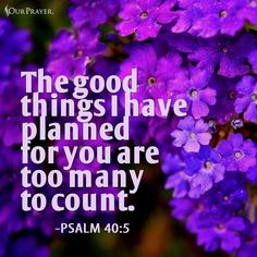God's good plan