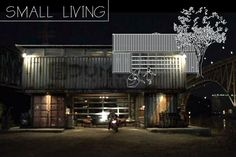 """""""Build Flynn's Container Home from Tron Legacy… Kinda"""". Real life similar version is called The Quik House."""