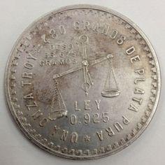 1949 Casa de Moneda de Mexico 33 625 grams 925 Silver Coin No Reserve | eBay