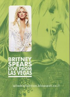 Britney Spears Collection by Gilad: Live From Las Vegas [Korea DVD - Limited Edition]