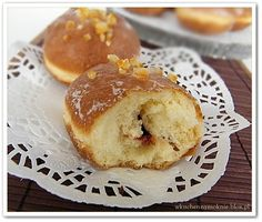 LUKSUSOWE PĄCZKI i sposób na jasne obrączki Hamburger, Muffin, Bread, Breakfast, Anna, Food, Morning Coffee, Brot, Essen