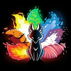 Naruto Wallpaper, Wallpaper Naruto Shippuden, Disney Wallpaper, Cute Fantasy Creatures, Mythical Creatures Art, Cute Animal Drawings, Cute Drawings, Anime Kunst, Anime Art