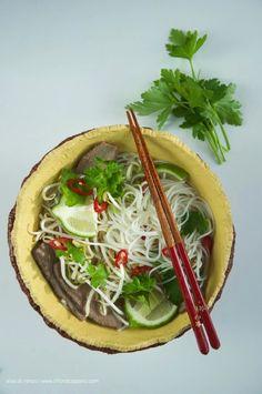 pho, zuppa di manzo vietnamita