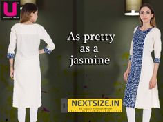 Simple and Suave #kurtis for your #dailywear. Get them here :  http://nextsize.in/