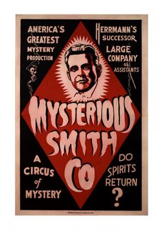 Mysterious Smith Co. (Alfred Smith) ca. 1930