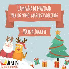 #Dona1Jugete para los niños más desfavorecidos, regala felicidad estas navidades.