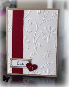 Love U CAS by YoursTruly - Cards and Paper Crafts at Splitcoaststampers