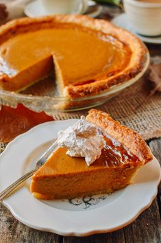 Butternut Squash Pie Family Recipe - The Woks of Life - Make this butternut squash pie with fresh butternut squash from your grocery store, farmer's mark - First Thanksgiving Meal, Thanksgiving Recipes, Winter Recipes, Pie Recipes, Dessert Recipes, Cooking Recipes, Pumpkin Recipes, Dessert Ideas, Delicious Recipes