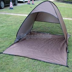 Outdoor camping survival gear instant easy #popup tent #beach #family shelter,  View more on the LINK: http://www.zeppy.io/product/gb/2/391523405716/