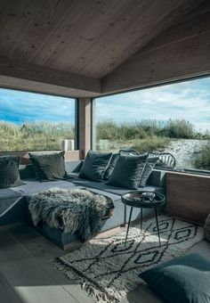 Beautiful summerhouse in Skagen, Denmark, by architect Sebastian Schroers…