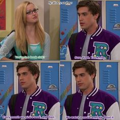 Disney Channel Liv and Maddie. Maddie Rooney and Diggie. Dove Cameron and Ryan Mccartan.  Rove ♡ Miggie ♡