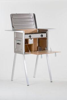 Boîte de cuisine de campagne, Camping Kitchen, Chuck - la cuisine de voyage complète dans une boîte - avec légendaire partenaire Steel poêle