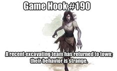 Image may contain: 1 person, meme, text that says 'Game Hook Arecent excavating team has returned to town; their behavior is strange. Dungeons And Dragons Memes, Dungeons And Dragons Homebrew, Science Fiction, Dnd Stories, Dungeon Master's Guide, Dnd 5e Homebrew, Dragon Rpg, Tabletop Rpg, Fantasy Rpg