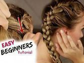 Tutorial: How to BRAID your hair STEP BY STEP! For beginners :) - YouTube #Braid... -  Tutorial: How to BRAID your hair STEP BY STEP! For beginners :] – YouTube #Braid…  Tutorial: Ho - #beginners #braid #hair #Step #tutorial #youtube