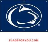 Penn State Nittany Lions Fan Banner x Nittany Lion, Garden Flags, Lions, Banner, Fan, Banner Stands, Lion, Hand Fan, Banners