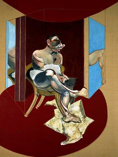 Study of George Dyer, 1972 by Francis Bacon (1909-1992)