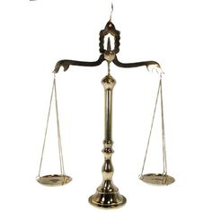"""24"""" BRASS SCALE OF JUSTICE - Apothecary Scales - PIRATE"""